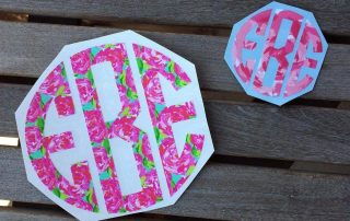 Lilly Pulitzer Adhesive Vinyl - Oracal 651 Roses